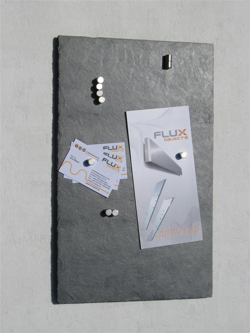 Flux pinnboard schiefer magnet pinnwand in 25 x 40 cm 292 - Pinnwand ideen ...