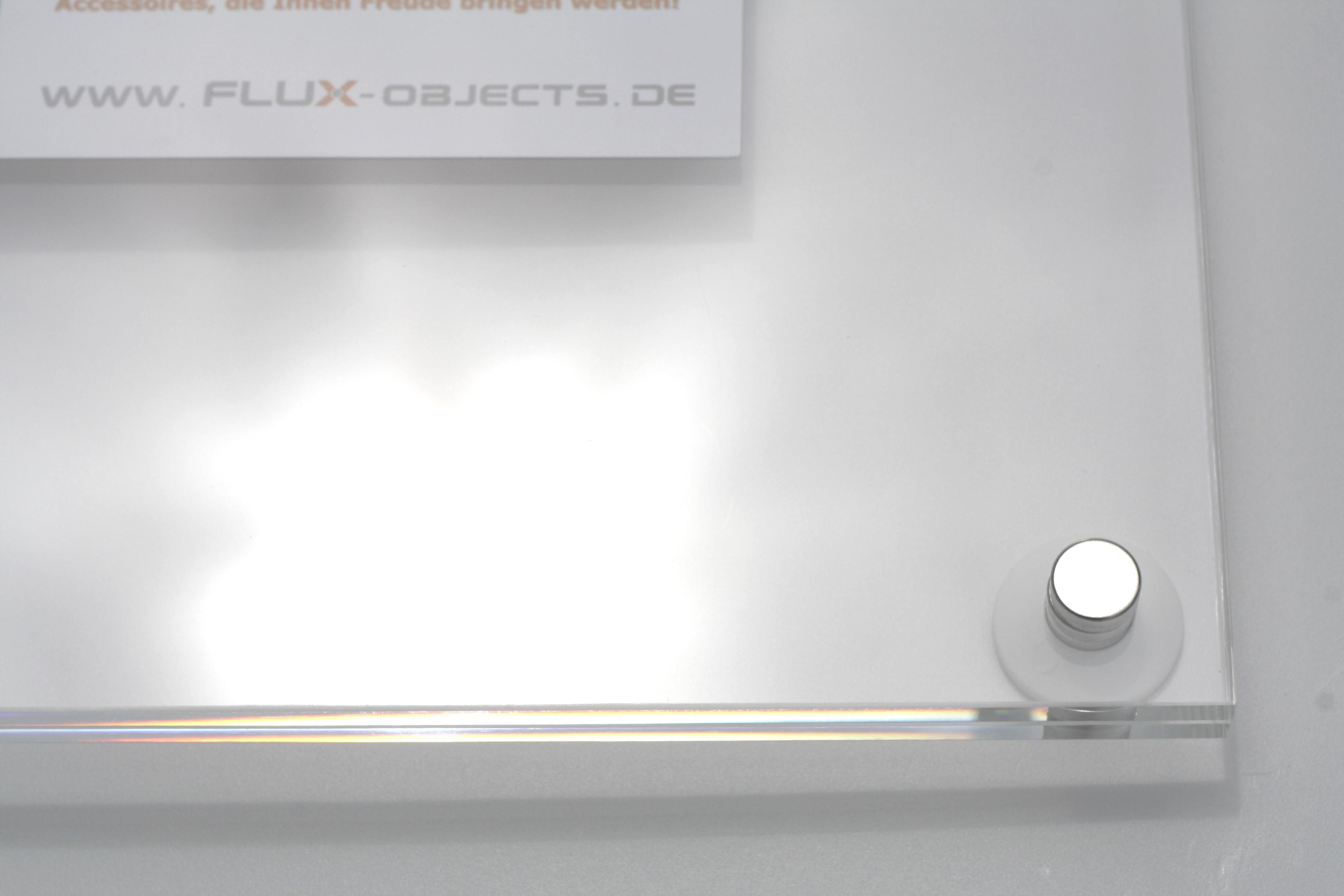 FLUX-Frame, Acrylglas-Wandrahmen (34 x 25 cm, für DIN A4)-306